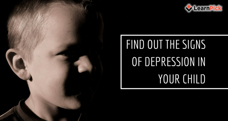 Find Out The Signs Of Depression in Your Child