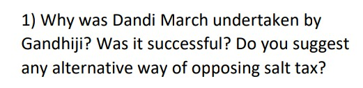 Why was Dandi March undertaken by gandhiji?  Was it successful? Do you suggest any alternative way of opposing salt tax?