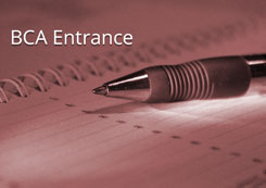 BCA Entrance Coaching Classes