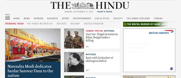 "How to read the newspaper ""The Hindu"" for the UPSC Civil"
